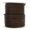Leather Round Cord 2mm Brown